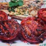 Alberto Serranp - Emperador con tomates a la plancha